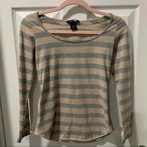 *4 for $20* Long sleeve striped tee